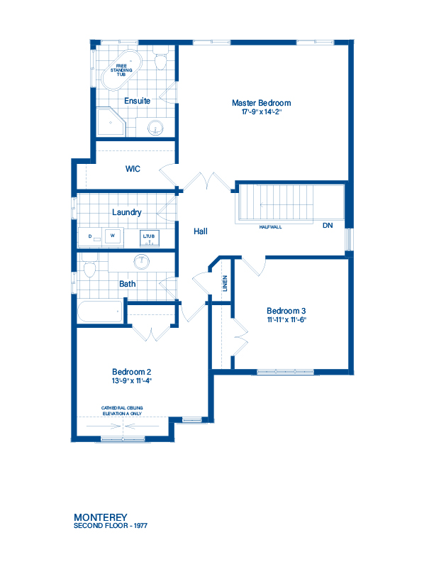 Floor Plan Monterey Devonleigh Homes